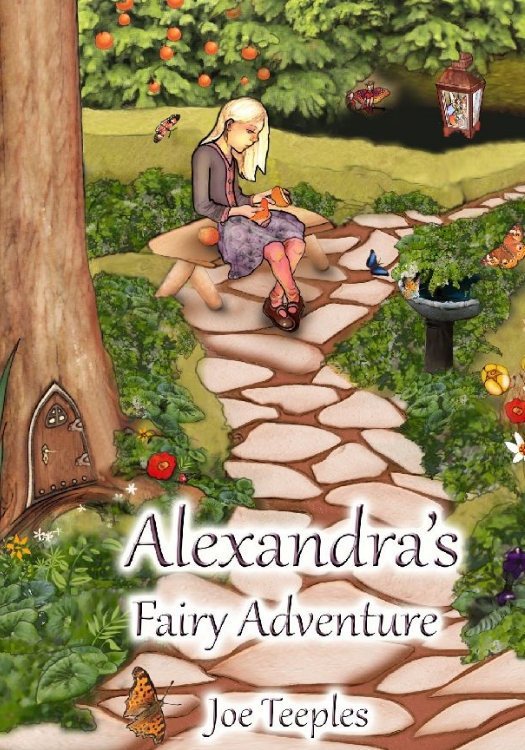 Alexandra's Fairy Adventure - Print