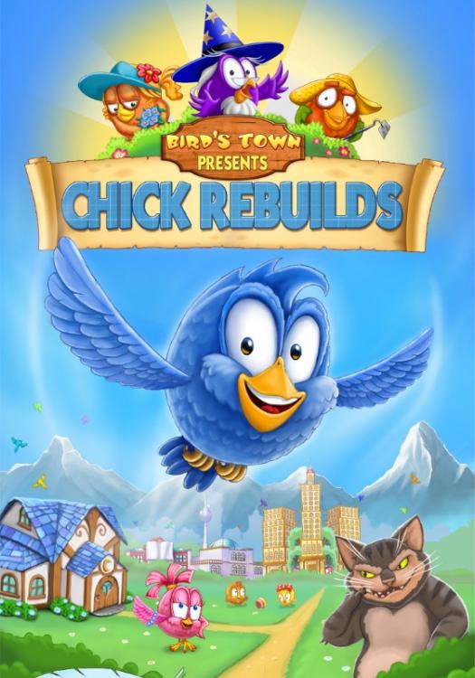 Chick Rebuilds - Print